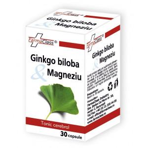 Ginkgo biloba & Magneziu - 30 cps