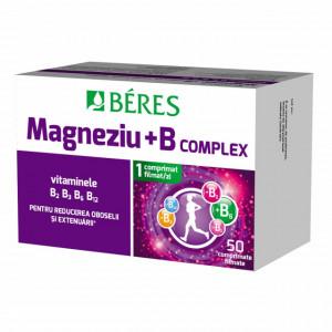 Magneziu + B complex - 50 cpr