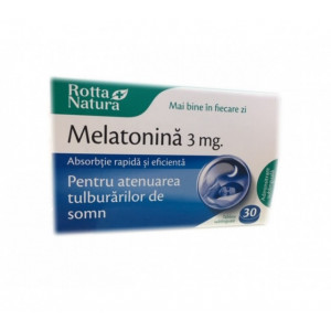 Melatonina 3 mg - 30 cps