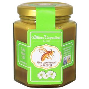Miere cu polen crud de paducel - 230 g