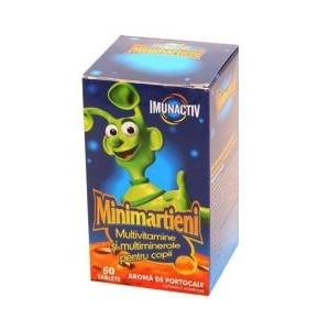 Minimartieni ImunActiv Portocale - 50 cps