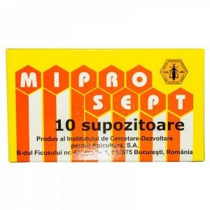 Miprosept supozitoare - 10 buc