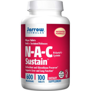 N-A-C Sustain 600mg - 100 cpr