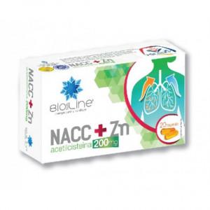 NACC + ZN 200 mg - 20 cps