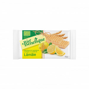 Napolitana BIO cu crema de lamaie - 40 g