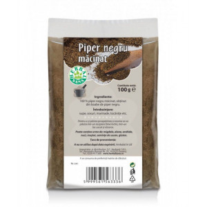 Piper negru macinat - 100 g