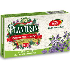 Plantusin Usureaza Expectoratia, R18 - 15 capsule moi