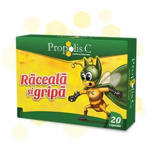 Propolis C Raceala si Gripa - 20 cps