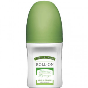 Roll-on Homme Dynamique cu salvie si glicerina 50 ml