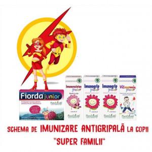 """Schema de imunizare antigripala la copii """"SUPER FAMILII"""""""