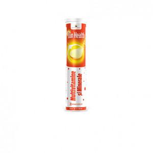 Sun Health Multivitamine si Minerale - 20 cpr efervescente
