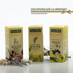 Tratament naturist - Colesteroloza la varstnici (pachet)