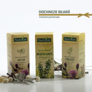 Tratament naturist - Dischinezie biliara (pachete)