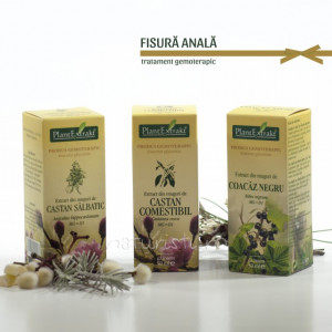 Tratament naturist - Fisura anala (pachet)