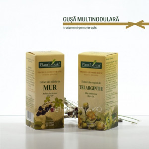 Tratament naturist - Gusa, gusa multinodulara (pachet)