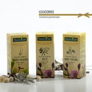 Tratament naturist - Leucoree (pachet)