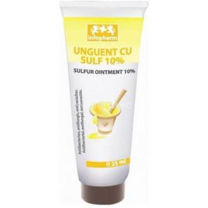Unguent cu sulf 10% - 25 ml