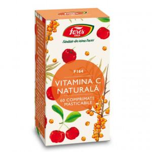 Vitamina C naturala, F164 - 60 cpr Fares