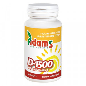 Vitamina D-1500 - 60 cpr