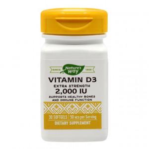 Vitamina D3 2000 UI - 30 cps