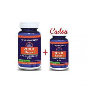 Zeolit Detox+ 60 cps + 30 cps Gratis