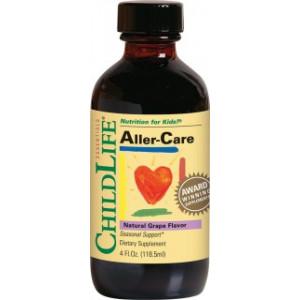 Aller-Care (gust de struguri) - 118.50ml - ChildLife Essentials