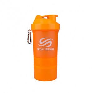 Shaker SmartShake slim portocaliu 500 ml