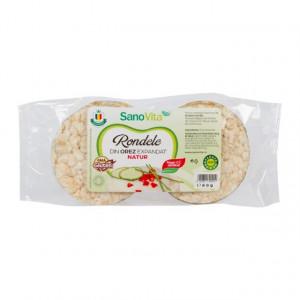 Rondele de orez simple - 80 g