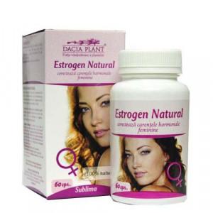 Estrogen Natural - 60 cps - Dacia Plant