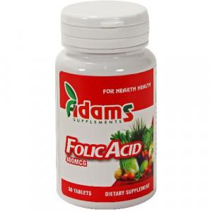 Acid Folic 400 mcg - 30 cps