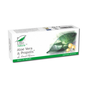 Aloe Vera si Propolis - 30 cps