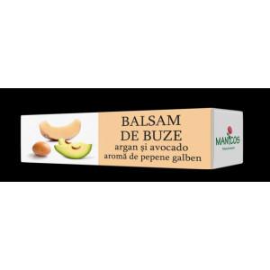 Balsam de buze cu ulei de argan, avocado si aroma de pepene galben - 4.8g