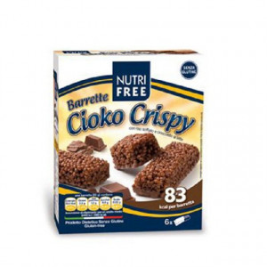 Batoane Cioko Crispy cu ciocolata - 120g (6X20G) - NutriFree