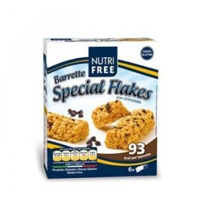 Batoane de cereale cu bucati de ciocolata 129g (6x21.5g) - NutriFree