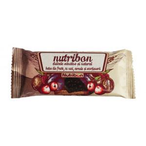Batonul Nutribon cu nuci - Cutie 24 batoane