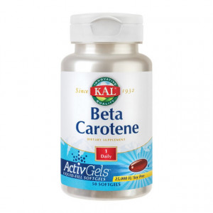 Beta Carotene 25000UI - 50 cps