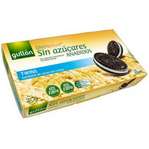 Biscuiti cacao cu crema fara zahar - 210 g