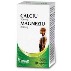 Calciu si Magneziu - 40 cpr