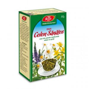 Ceai Colon Sanatos D64 - 50 gr Fares