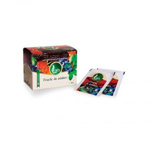 Ceai fructe de padure - 100 dz cu snur Larix