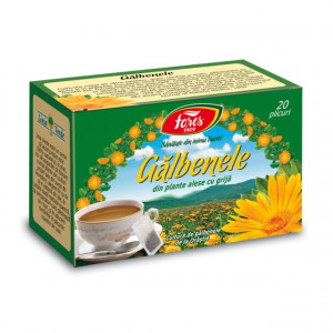 Ceai Galbenele - 20 pl Fares