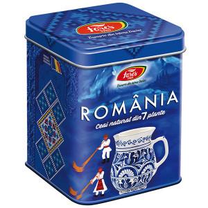 Ceai Suvenir Romania 7 Plante Albastru - 100 gr Fares