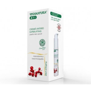 Crema antirid superlifting ten uscat - 45 ml Vivanatura