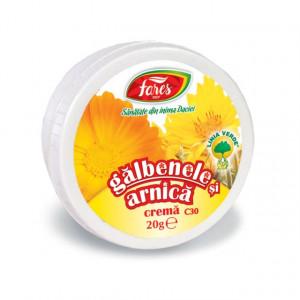 Crema cu Galbenele si Arnica C30 - 20 gr Fares