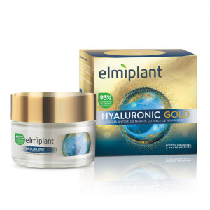 Crema de noapte antirid Hyaluronic Gold - 50 ml