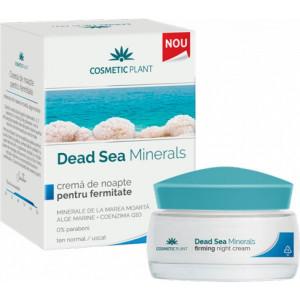 Crema de noapte pentru fermitate Dead Sea Minerals - 50 ml