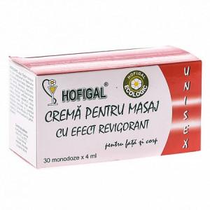 Crema pentru masaj cu efect revigorant - 30x4 ml