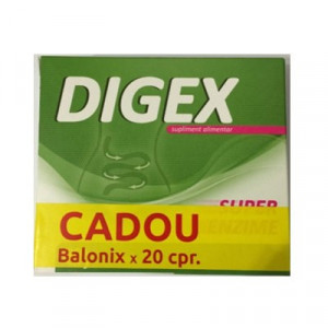 Digex 10 cps + Balonix 20 cpr Gratis