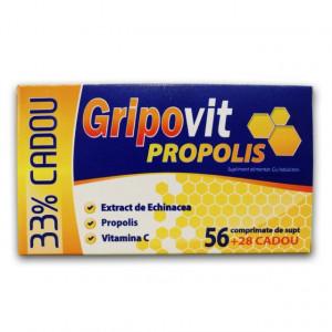 Gripovit Propolis - 84 cpr de supt 33% Cadou