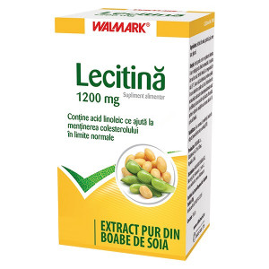 Lecitina 1200 mg - 80 cps